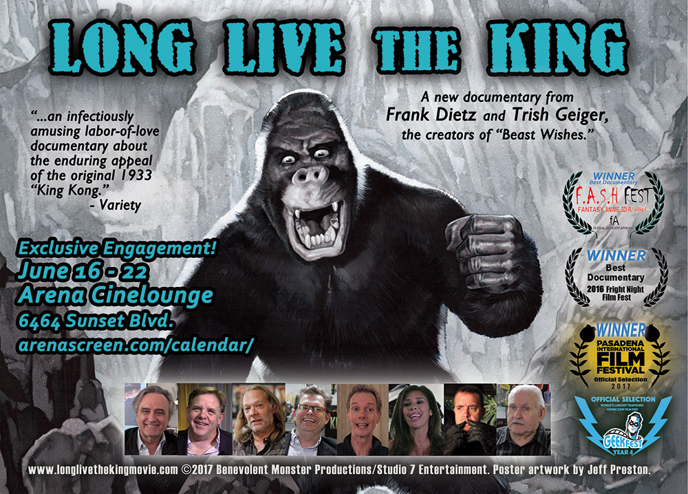 Award-winning documentary LONG LIVE THE KING makes its theatrical premiere June 17, 2017 in Hollywood.
